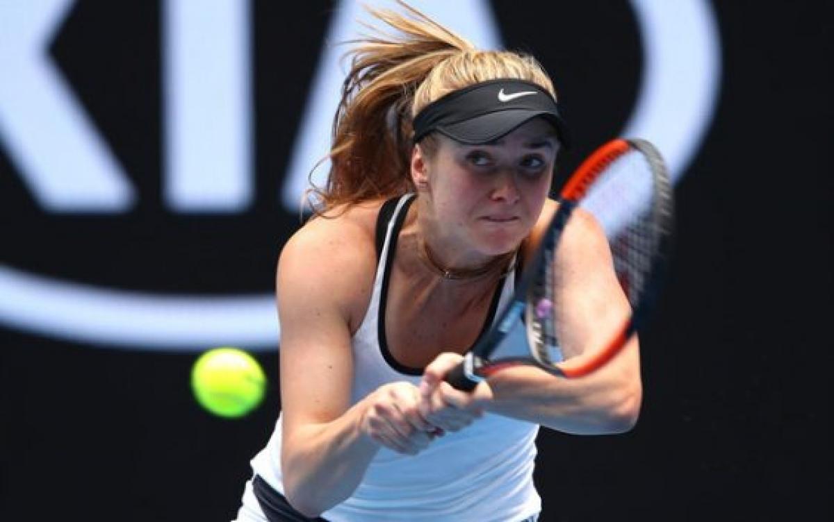 Свитолина вышла вполуфинал теннисного турнира вТайбэе