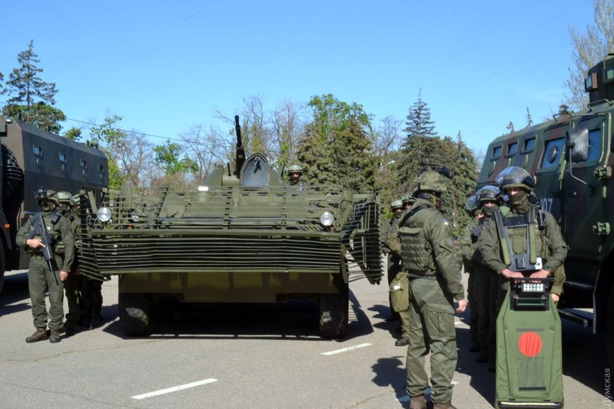 Одесская милиция пообещала открытый доступ наКуликово поле 2мая