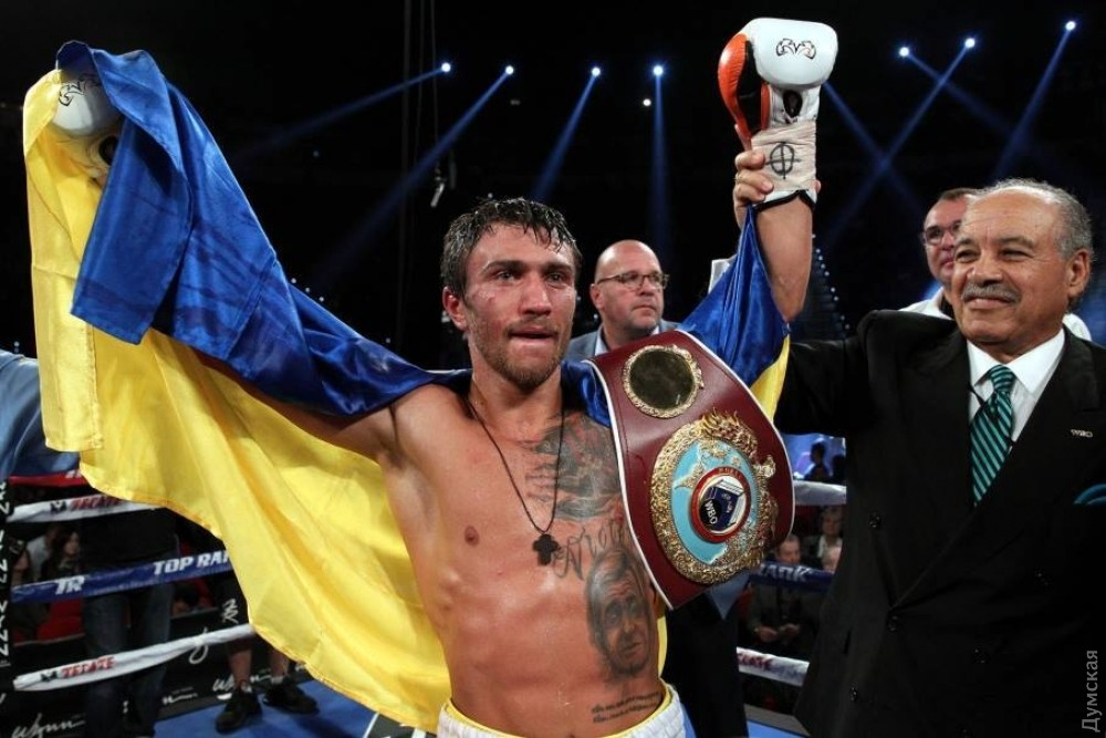 Украинский спортсмен Ломаченко стал лучшим боксером в этом 2016г.