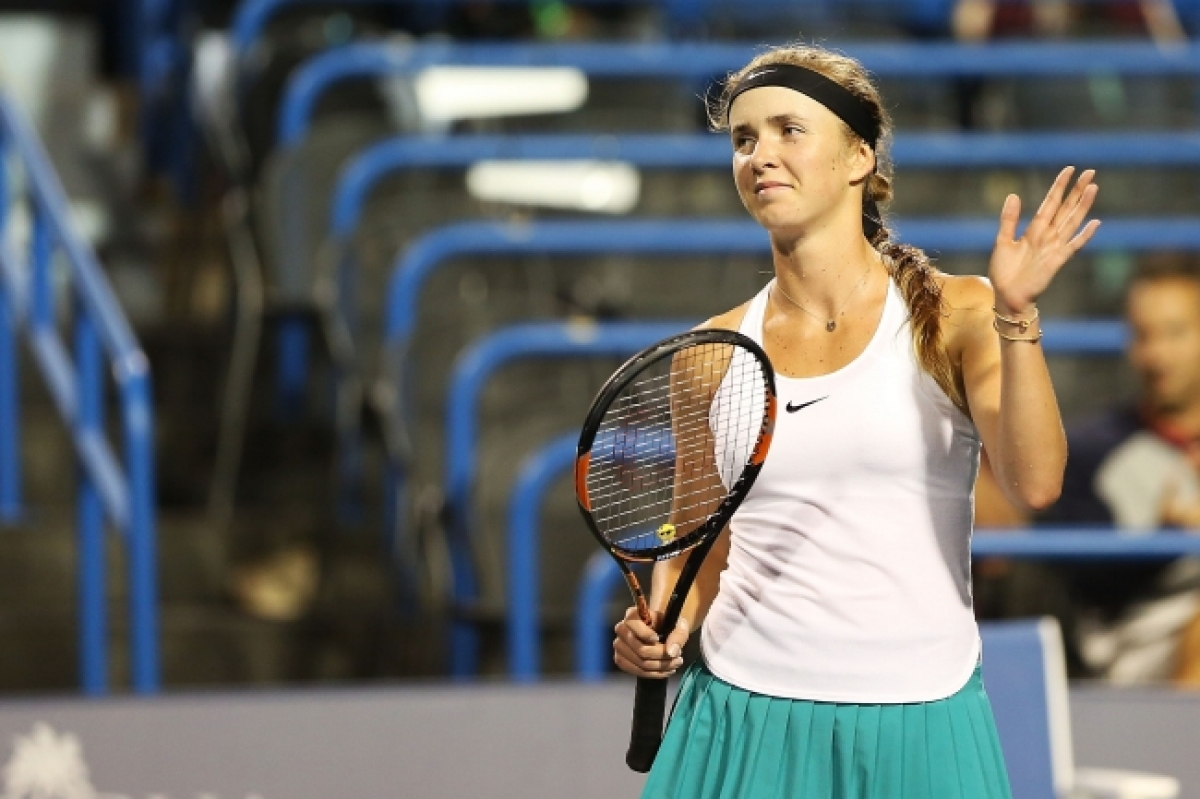 Свитолина вышла вчетвертьфинал вмиксте наAustralian Open