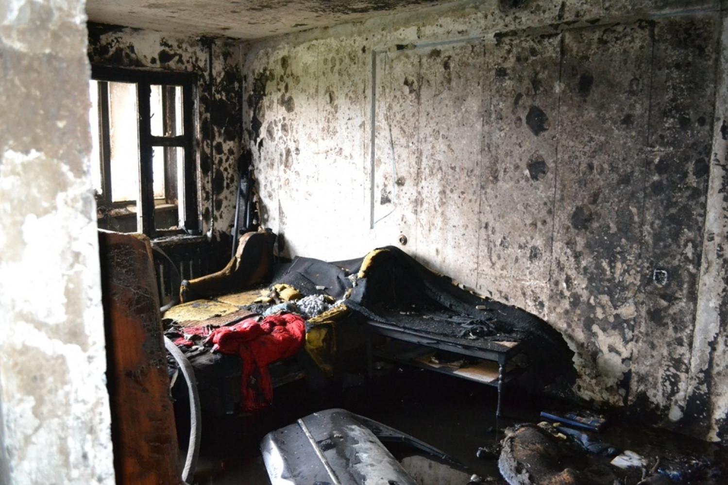 ВОдессе вжилом доме вспыхнул пожар: один ребенок умер, трое пострадали