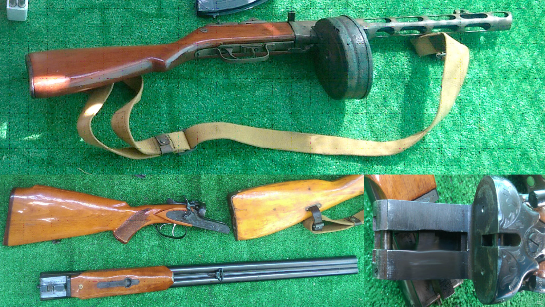 ВОдессе обнаружили арсенал оружия в личном доме