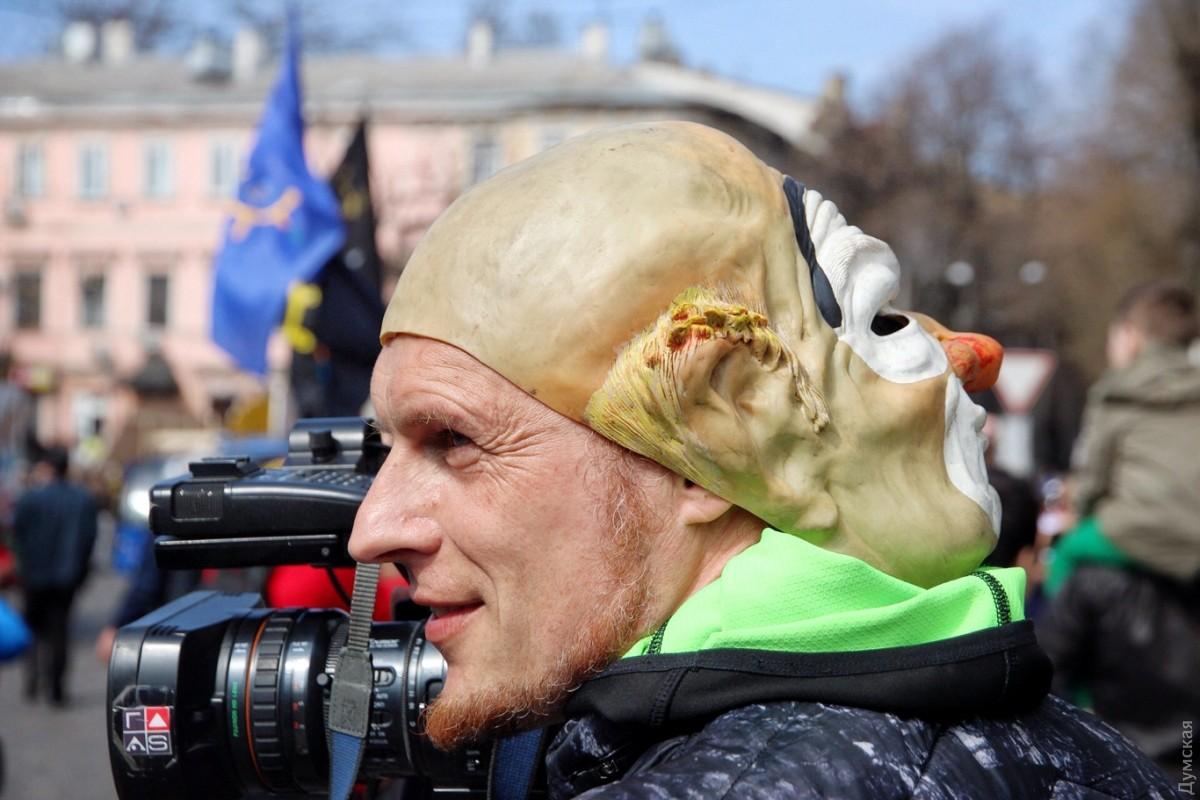 ВОдессе случилось покушение наэкс-кандидата вмэры «Дарта Вейдера»
