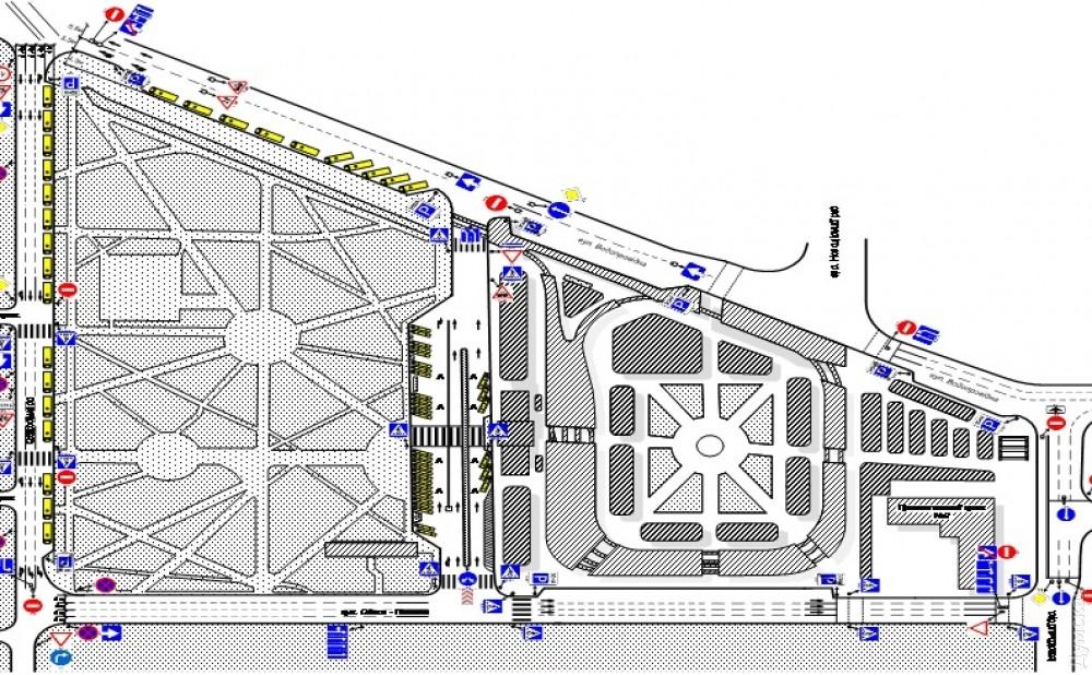 Жд вокзал одесса схема