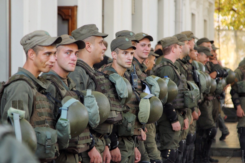 Штурм здания горсовета вОдессе завершился побоищем