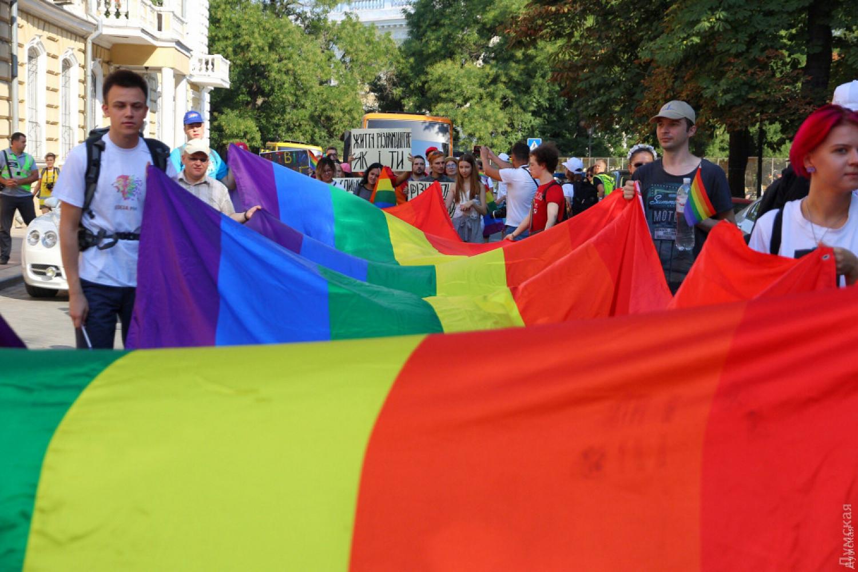 Два человека задержаны вОдессе занападение научастников ЛГБТ-парада