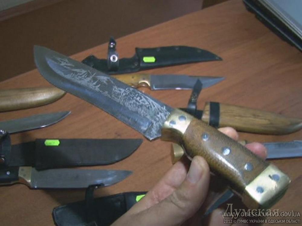 Изготовление холодного оружия статья видео 2