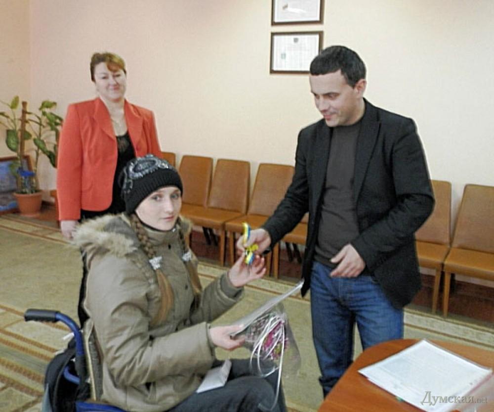 знакомства инвалидов в одесской области