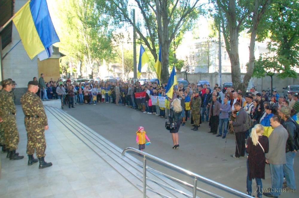 В Одессе провели велопробег в поддержку единства Украины: Piano Extremist с Майдана дал концерт для одесситов - Цензор.НЕТ 9537