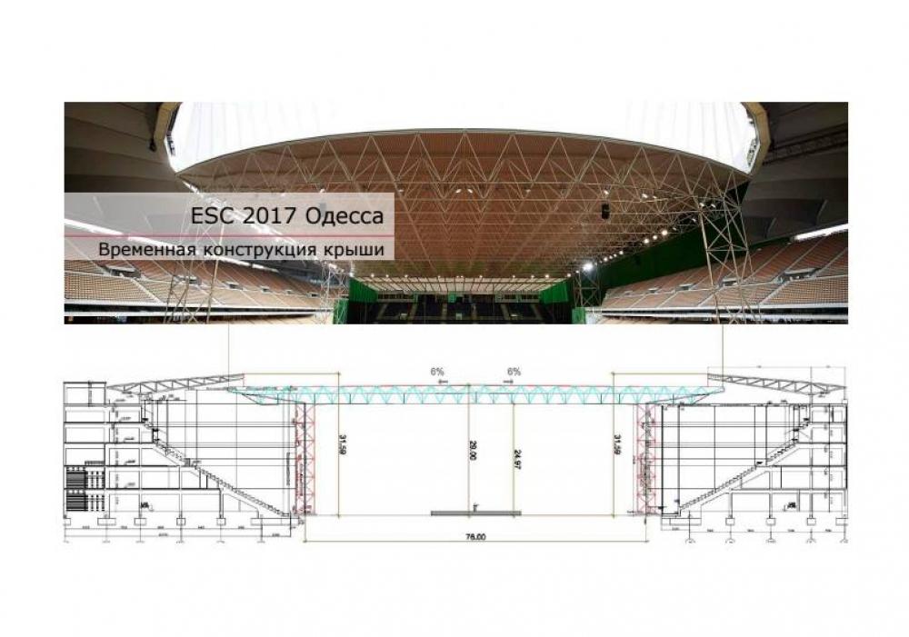 Одесса готовится кЕвровидению: швейцарцы помогут перестроить стадион