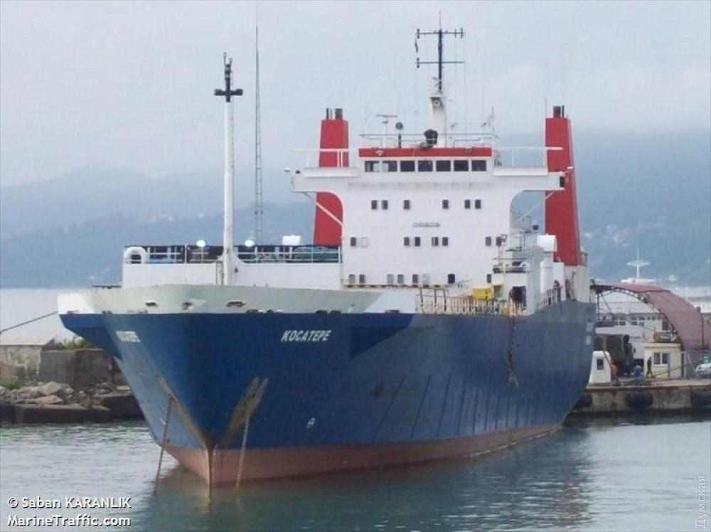 Одесский суд заочно арестовал пароход запоставки товаров изТурции вКрым