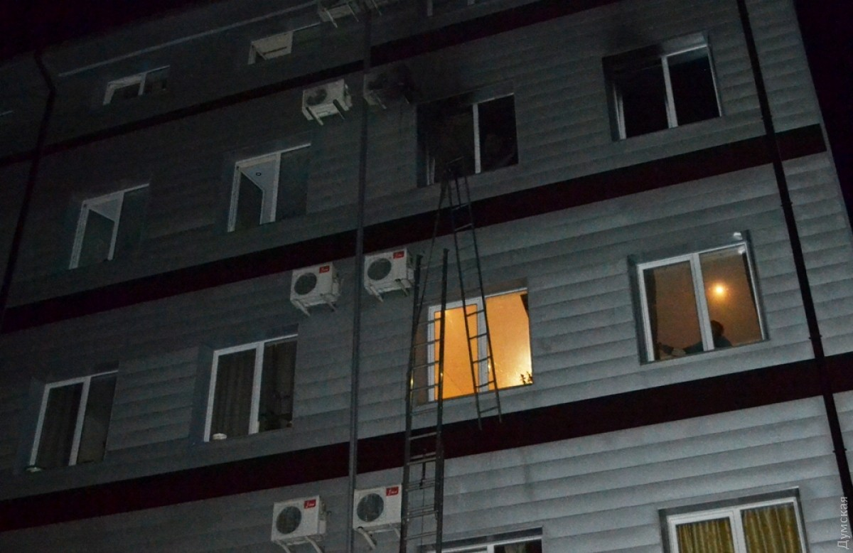 Вгостинице «Аркадия» сгорел один изномеров