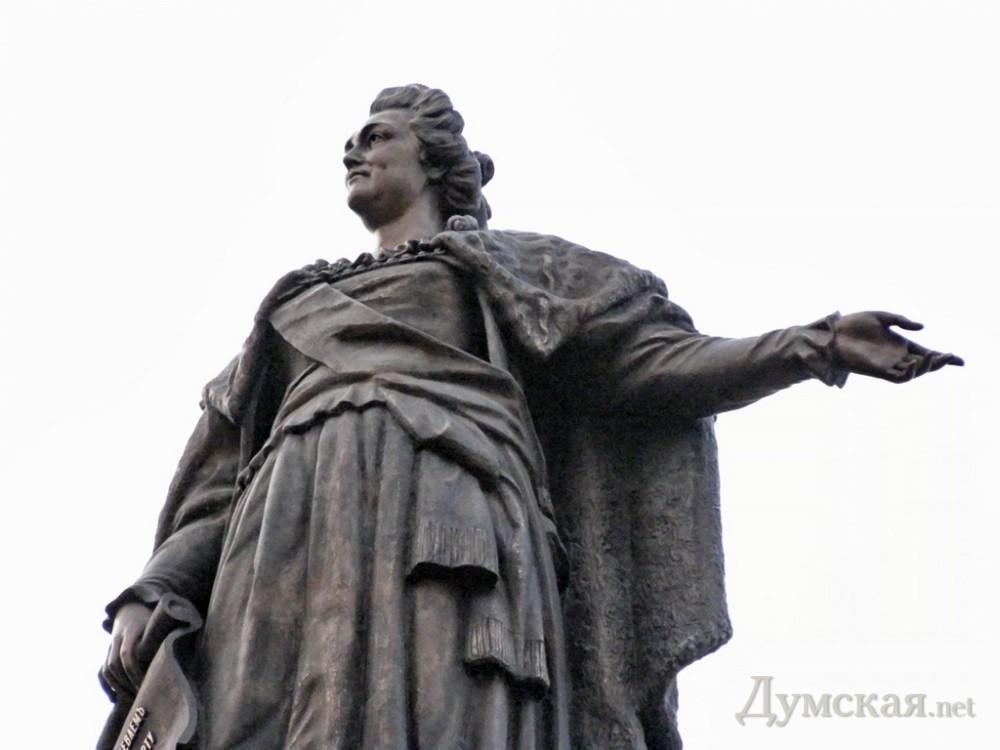В Одессе могут снести памятник Екатерине II