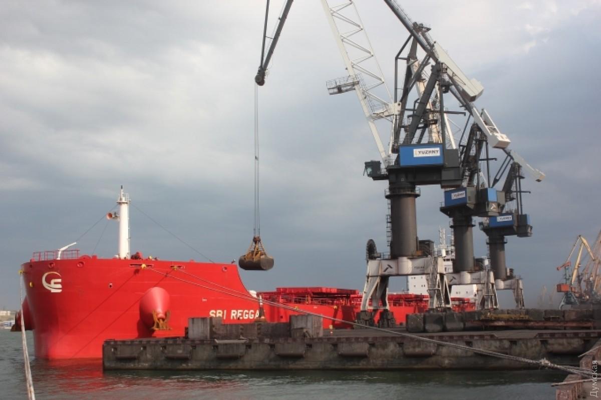 В Украинское государство прибыли судна сафриканским углем