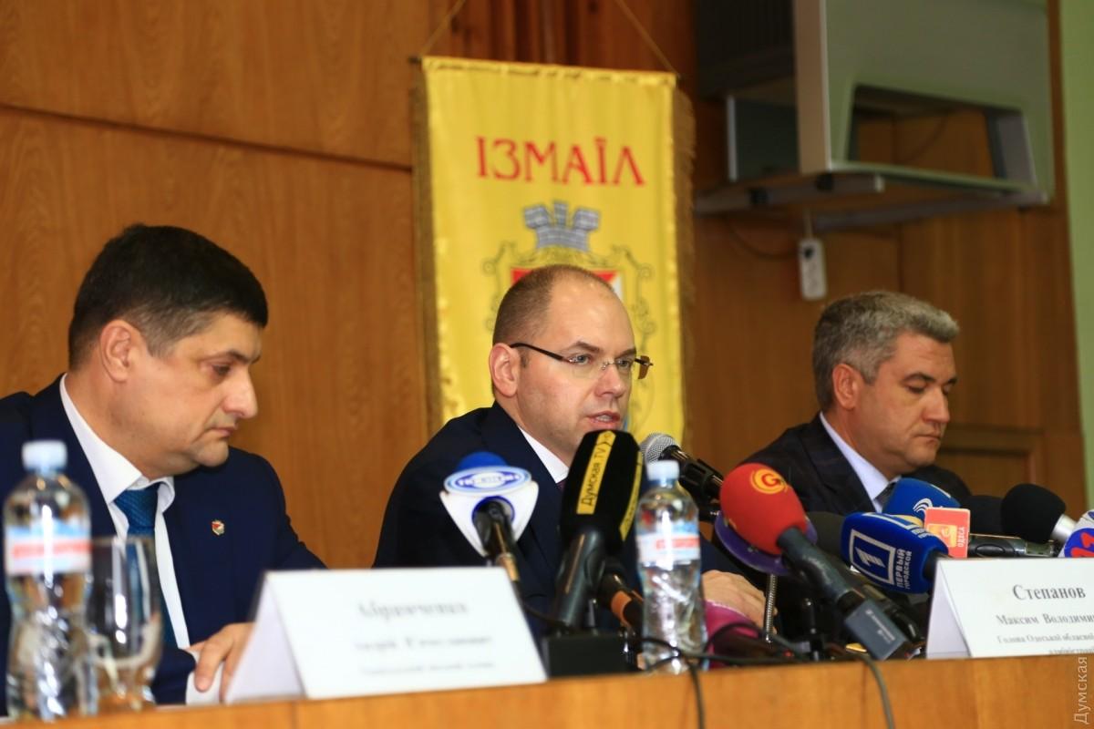 Новый губернатор как иСаакашвили пообещал отремонтировать дорогу Одесса-Рени