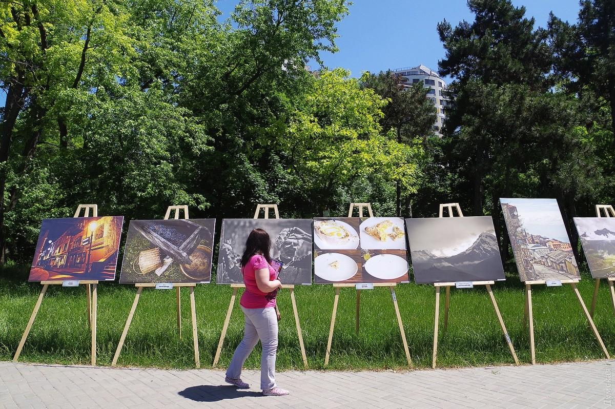 Водесском парке прошел превосходный грузинский фестиваль