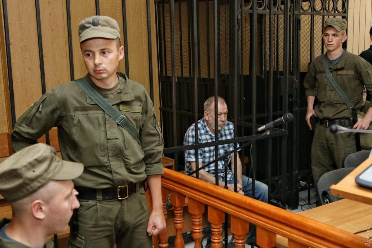 ВОдессе суд выпустил изСИЗО генерала— агента ФСБ