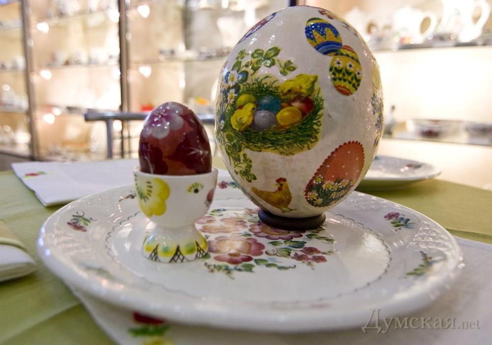Роспись страусиного яйца