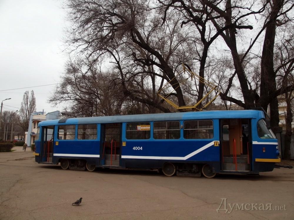 маршруты — трамвай №8 от