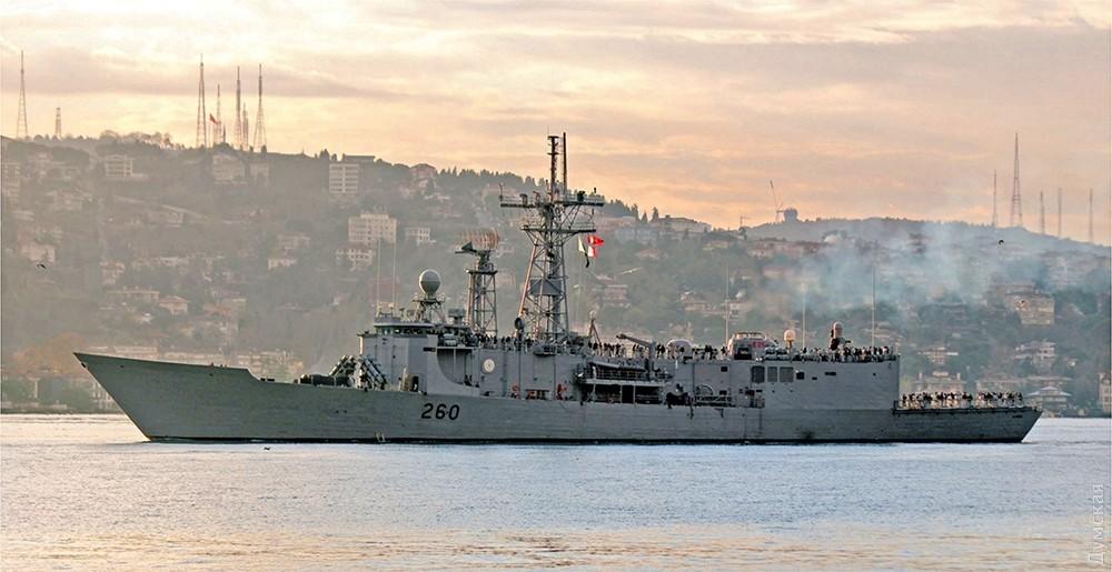 Пакистанский боевой фрегат прибудет вНовороссийск 6декабря
