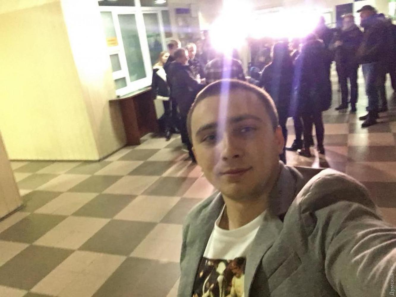 Суд отпустил Сергея Стерненко под личное обязательство