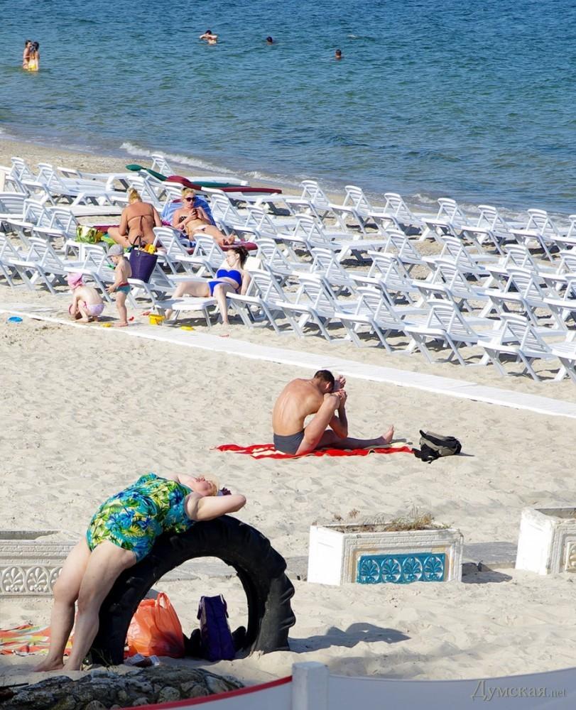 Платный пляж одесса 37