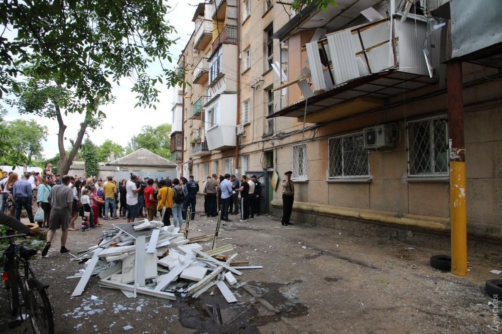 Взрыв вжилом доме вОдессе произошел из-за газового котла