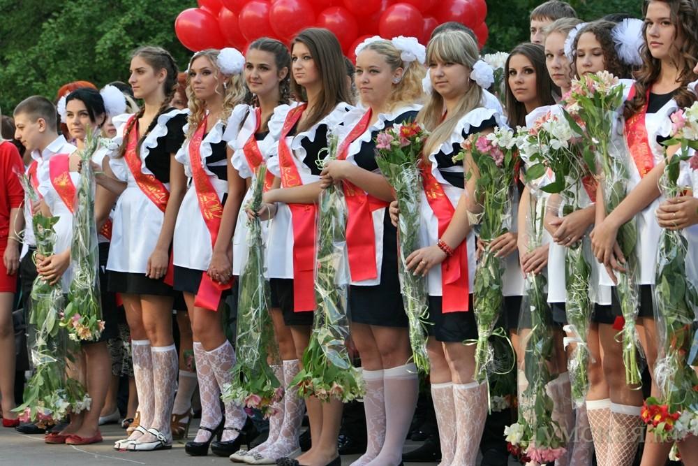 Фото как оделись выпускники на последний звонок