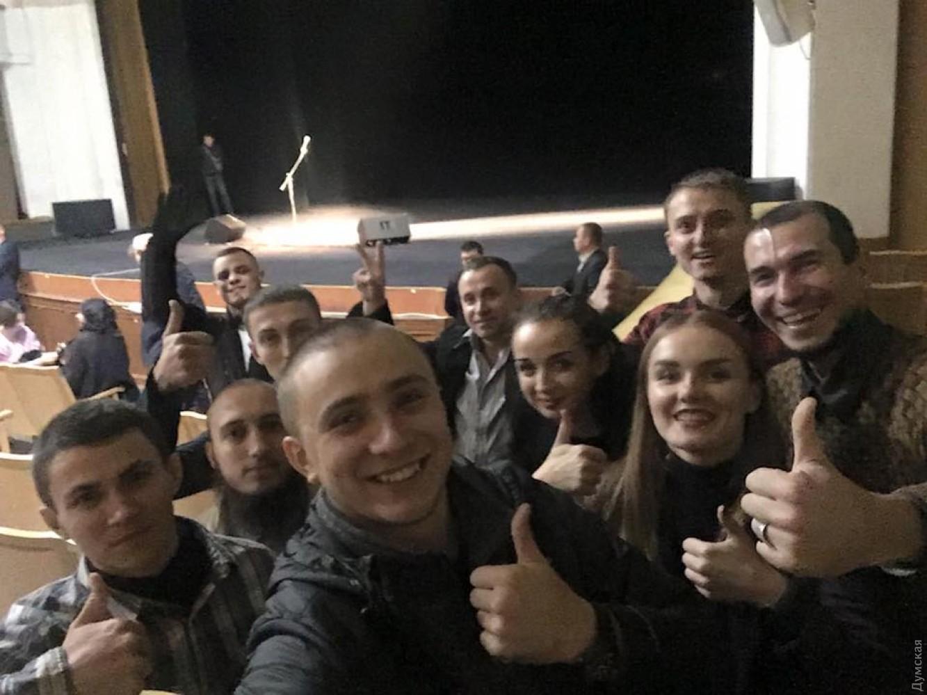 ВОдессе активисты сорвали концерт Райкина