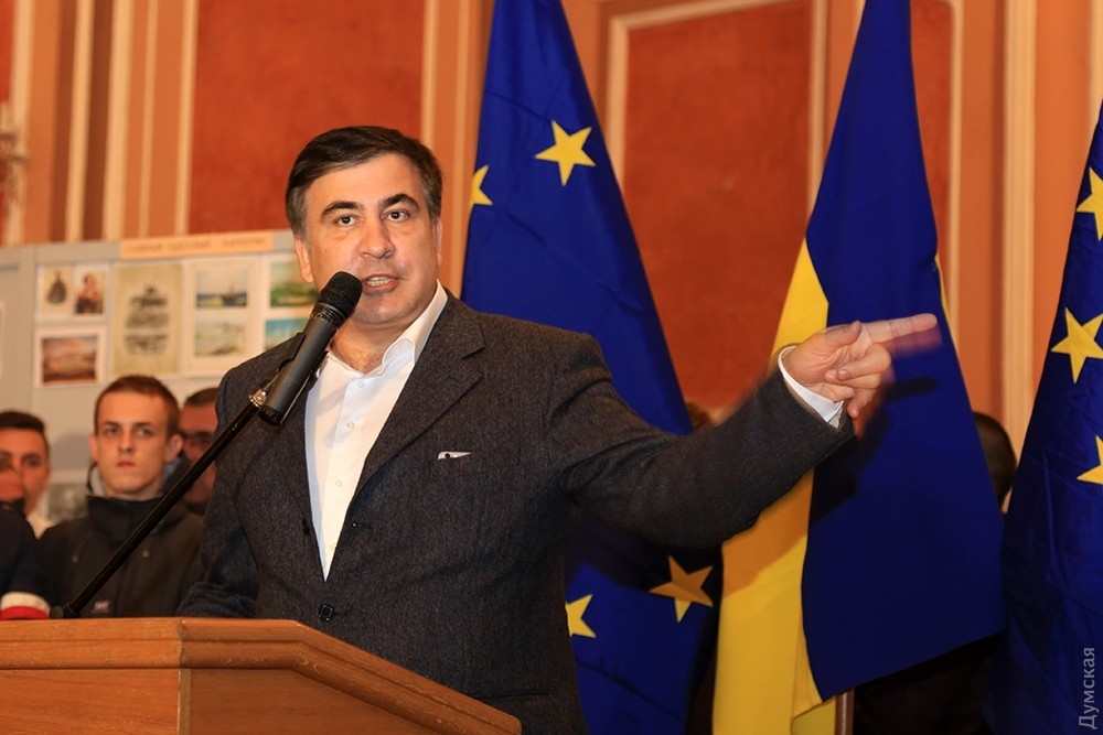 Саакашвили возвратится вГрузию назло Иванишвили