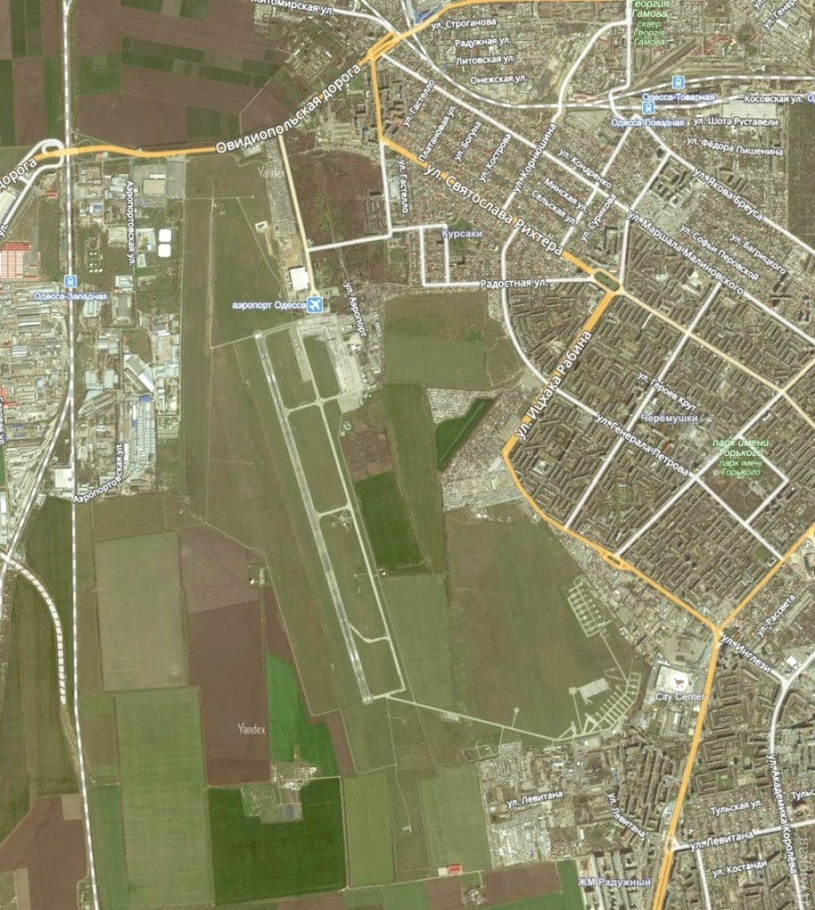 Одесский аэропорт будет всепогодным после возведения новейшей взлетно-посадочной полосы