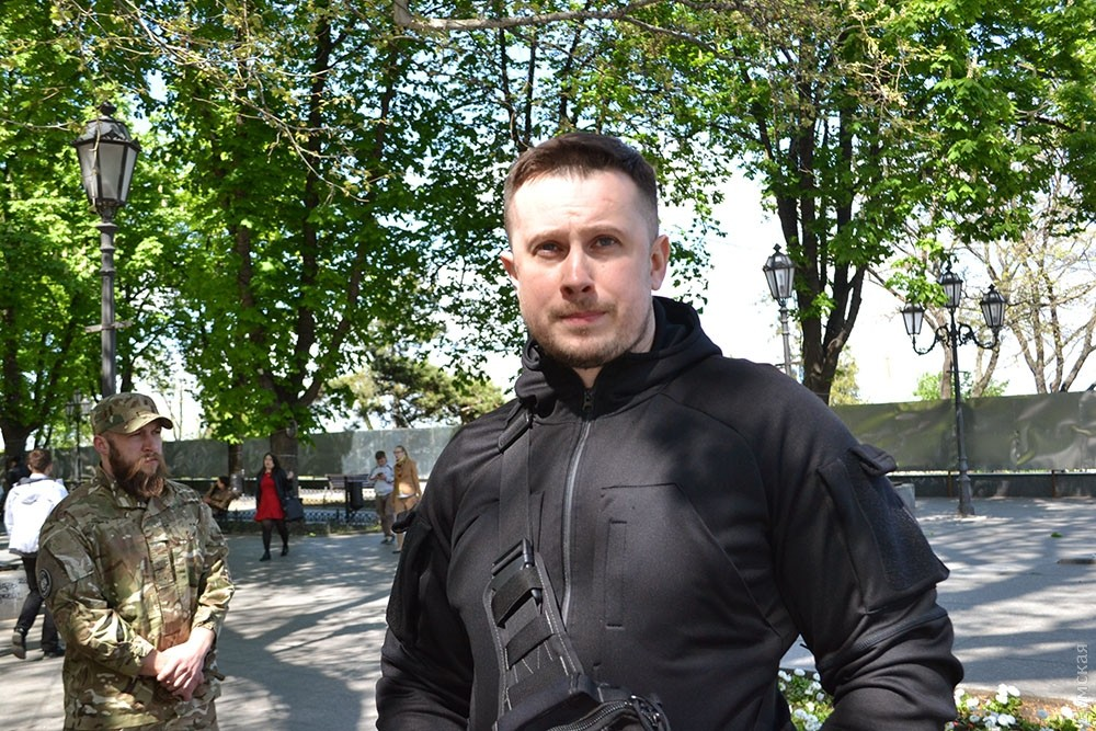 Саакашвили объявил опереброске вОдессу бойцов нацгвардии