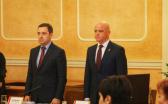 Секретарь горсовета Потапский и мэр Геннадий Труханов