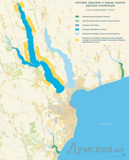 Развитие порта в Хаджибейском