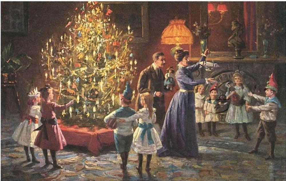 Новый год в 18 веке в россии
