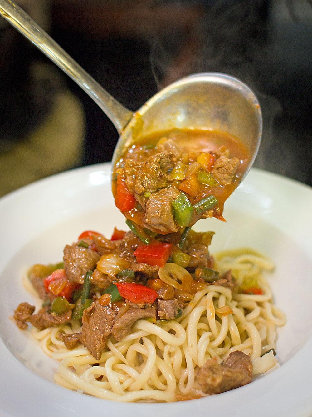 Рецепты узбекский лагман в домашних условиях рецепт с фото