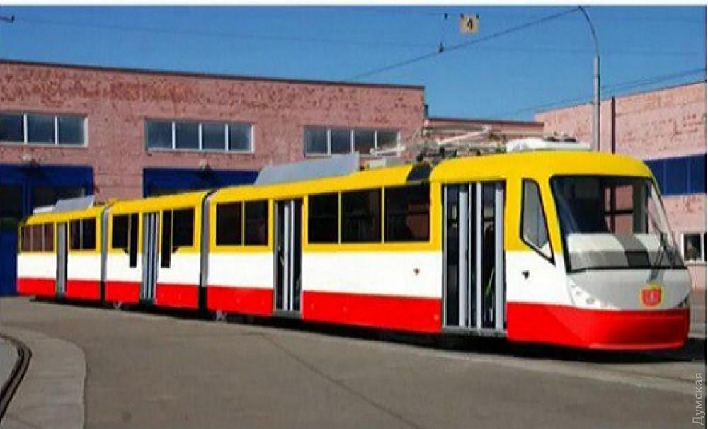 Предполагаемый внешний вид новых трамваев