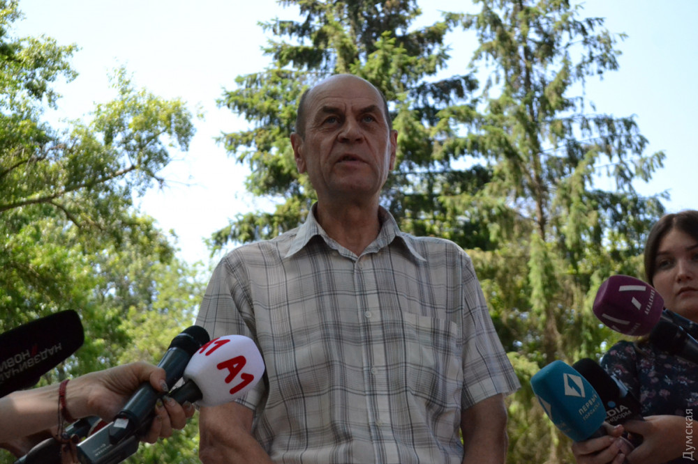 Главный инженер Управления капитального строительства Одесского горсовета Василий Никитенко
