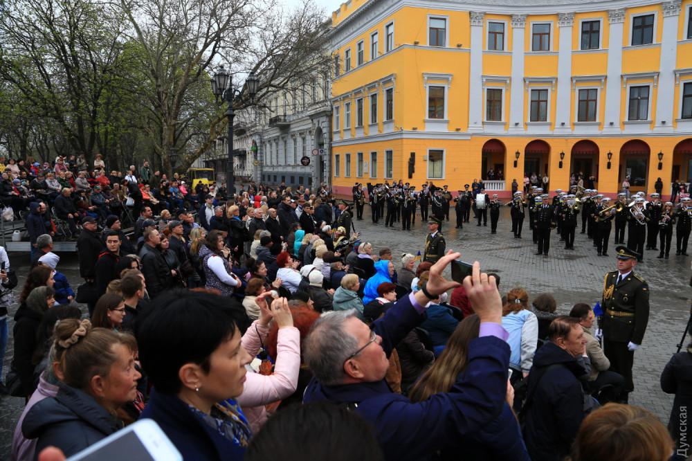 Одесса отметила 75-ю годовщину освобождения без символа Победы