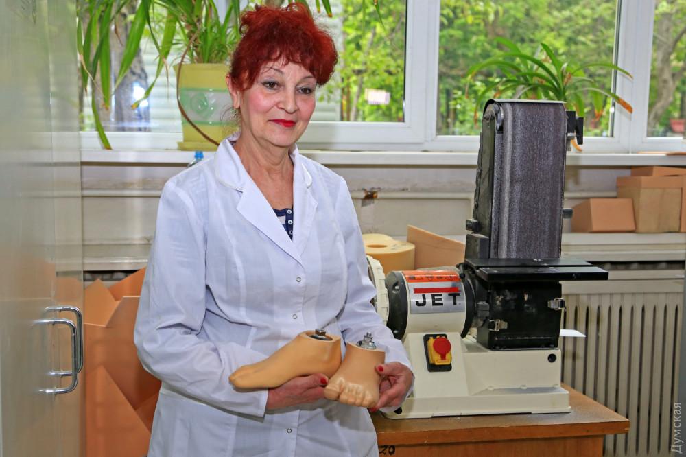 Людмила Перельман - один из опытнейших работников предприятия