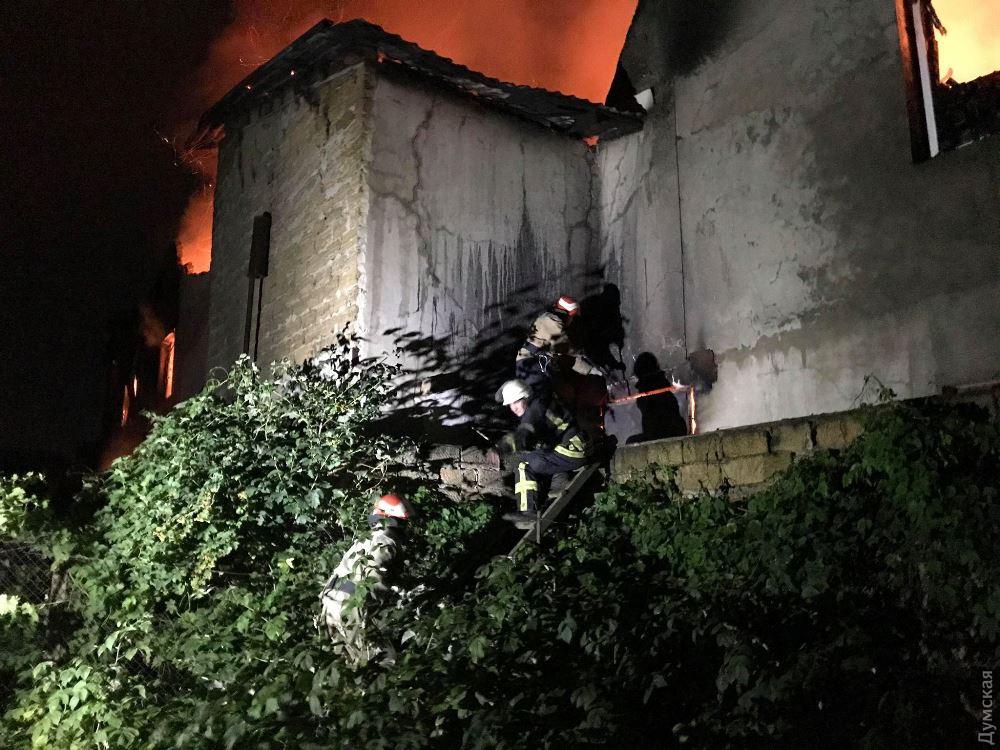 Пожар в Одессе - 1