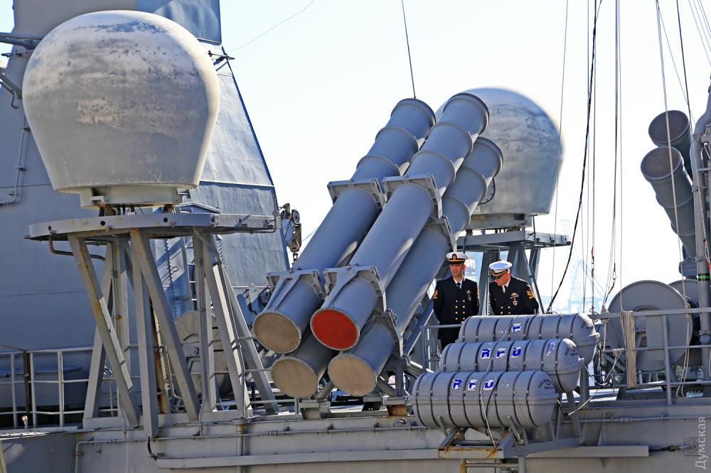 """Противокорабельные ракеты """"Гарпун"""" на """"Барбаросе"""""""