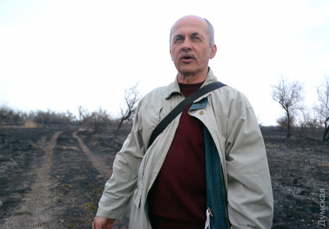 Исполняющий обязанности директора заповедника Василий Федоренко
