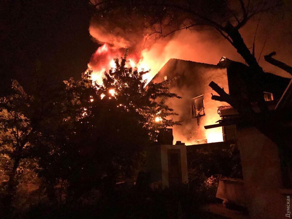 Пожар в Одессе - 3