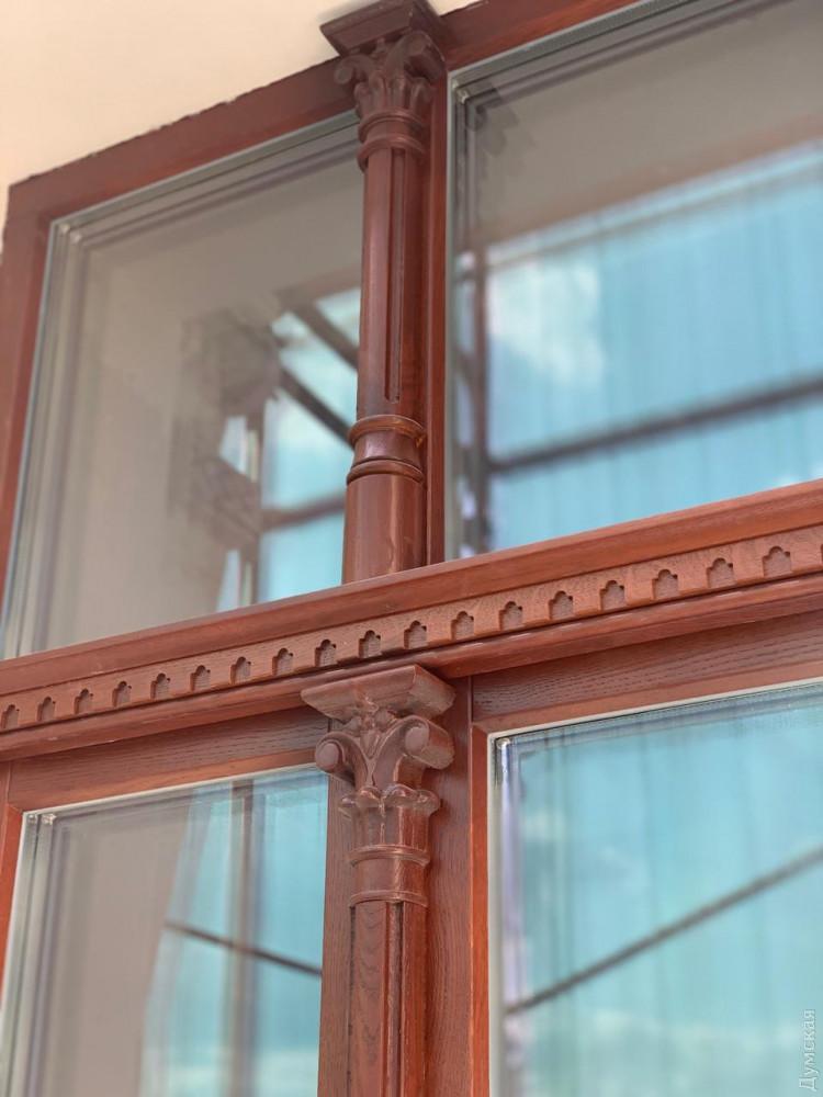 Новые окна дома Руссова