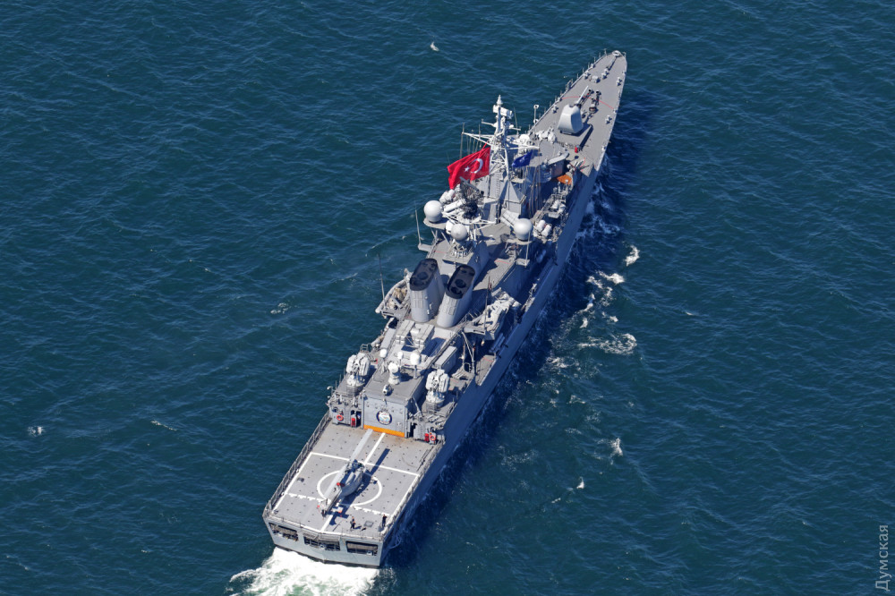 "Турецкий фрегат ""Тургутрейс"""
