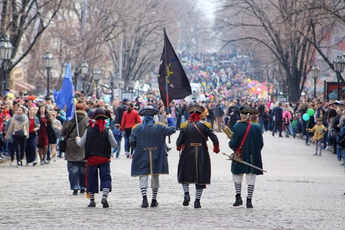 Одесские пираты участвуют в карнавалах уже четвертое десятилетие