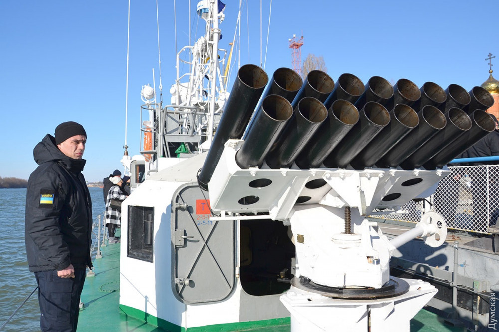 Пусковая установка неуправляемых ракет