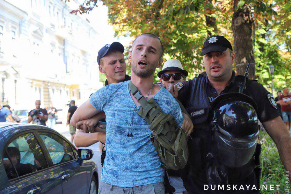 «Длиннее, чем впрошлом году— это победа»: вОдессе прошёл гей-парад