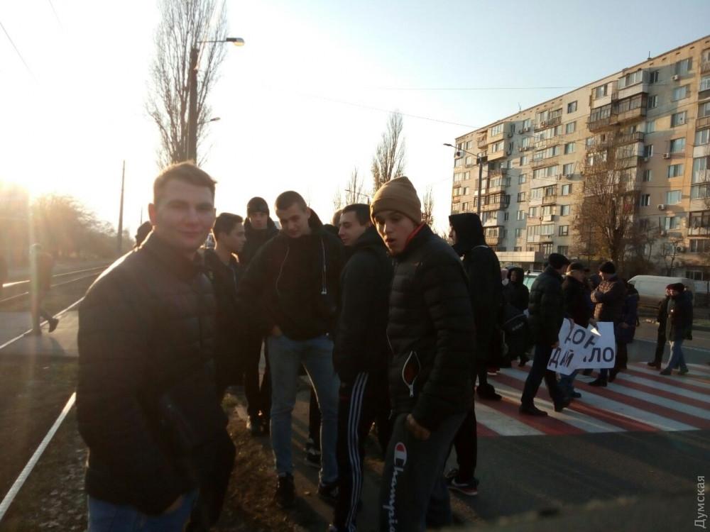 Протесты в Одессы: люди перекрыли две дороги, не обошлось без конфликта - пострадала девушка